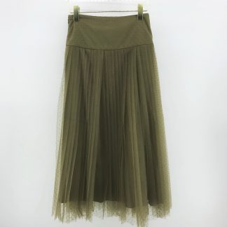 Replica Christian Dior TULLE PLEATED SKIRT 2020SS #40385